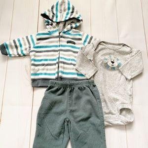 Fleece Lion Outfit 3 Months